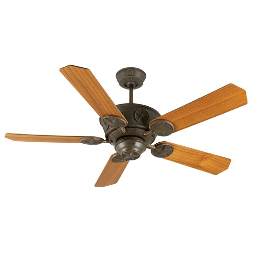 Craftmade Lighting Craftmade Lighting Chaparral Aged Bronze Textured Ceiling Fan Without Light K10870