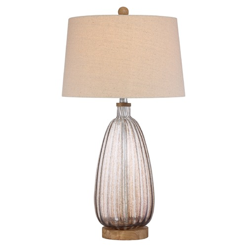 Quoizel Lighting Quoizel Lighting Quoizel Portable Lamp Amber Table Lamp with Empire Shade Q2323T