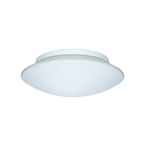 Besa Lighting Flushmount Light with White Glass 943007C