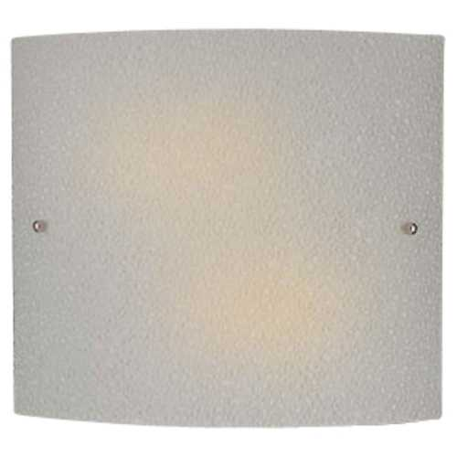 Minka Lavery Sconce with Etched Glass in Brushed Nickel Finish 369-PL