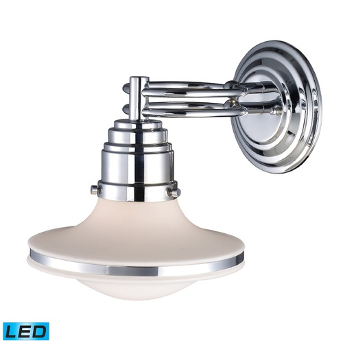 Elk Lighting Elk Lighting Retrospectives Polished Chrome LED Sconce 17050/1-LED