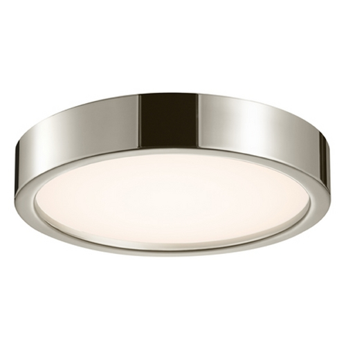 Sonneman Lighting Sonneman Lighting Puck Satin Nickel LED Flushmount Light 3725.13