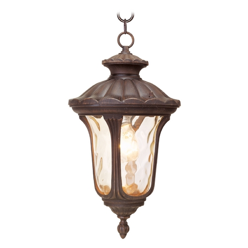 Livex Lighting Livex Lighting Oxford Imperial Bronze Outdoor Hanging Light 7654-58