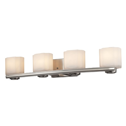 Elk Lighting Elk Lighting New Haven Brushed Nickel Bathroom Light 66188/4