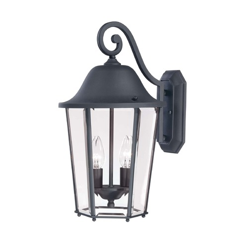 Savoy House Savoy House Black Outdoor Wall Light 5-6212-BK