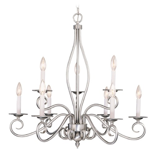 Savoy House Savoy House Pewter Chandelier KP-SS-117-9-69