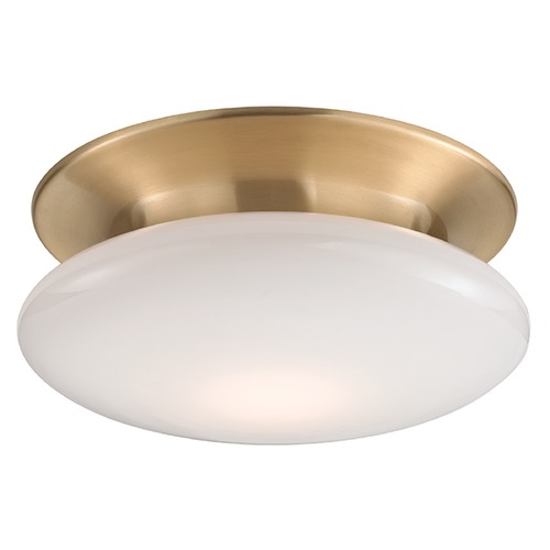 Hudson Valley Lighting Irvington LED Flushmount Light - Satin Brass 7012-SB