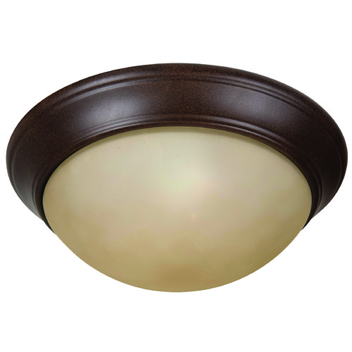 Jeremiah Lighting Jeremiah Pro Builder Premium Flush Aged Bronze Flushmount Light XPP13AG-2A