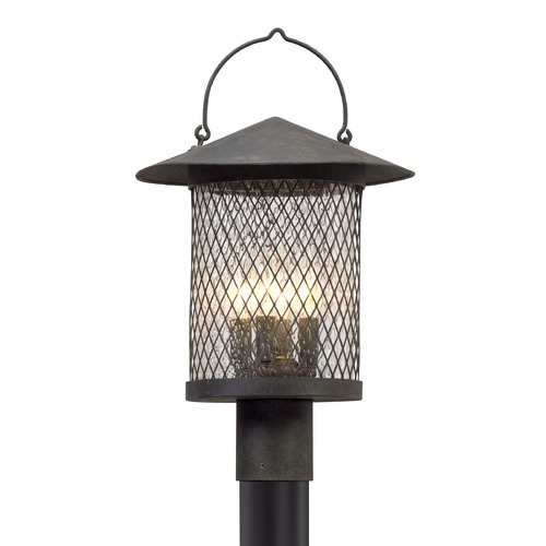 Troy Lighting Troy Lighting Altamont French Iron Post Light P5175