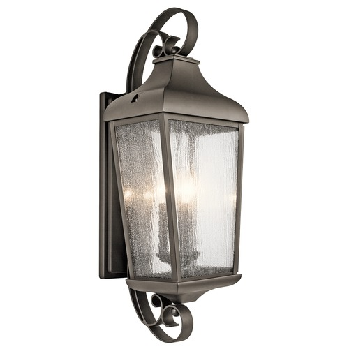 Kichler Lighting Kichler Lighting Forestdale Olde Bronze Outdoor Wall Light 49738OZ