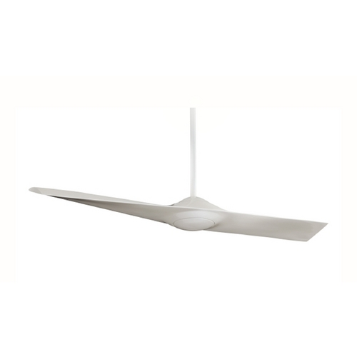 Minka Aire 52-Inch Modern Fan Without Light in Pearl White Finish F823-WH