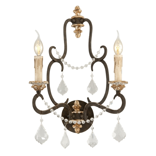 Troy Lighting Sconce Wall Light in Parisian Bronze Finish B3512
