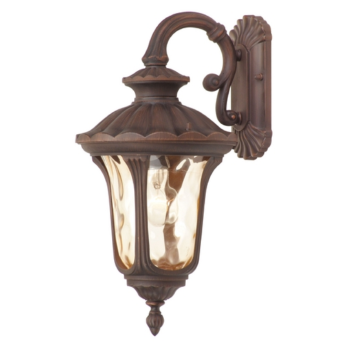 Livex Lighting Livex Lighting Oxford Imperial Bronze Outdoor Wall Light 7653-58