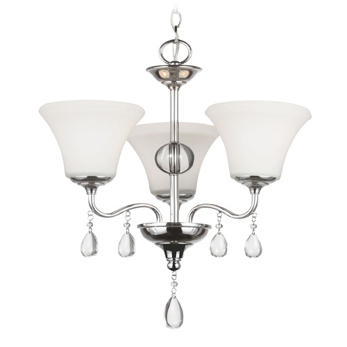 Sea Gull Lighting Sea Gull Lighting West Town Chrome Mini-Chandelier 3210503BLE-05