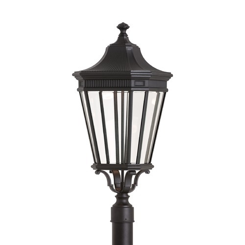 Feiss Lighting Feiss Lighting Cotswold Lane Black LED Post Light OL5408BK-LED
