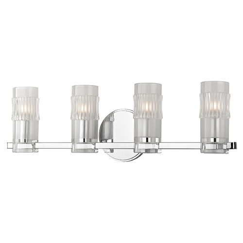 Hudson Valley Lighting Malone 4 Light Bathroom Light - Polished Chrome 2024-PC