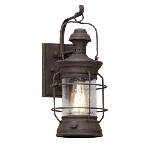 Troy Lighting Troy Lighting Atkins Centennial Rust Outdoor Wall Light B5051
