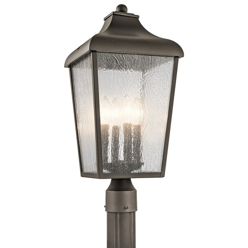 Kichler Lighting Kichler Lighting Forestdale Olde Bronze Post Light 49739OZ