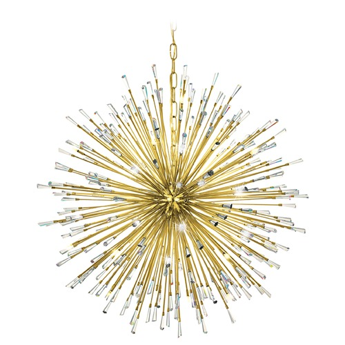 Eglo Lighting Mid-century modern Pendant Light Gold Vivaldo by Eglo Lighting 31463A