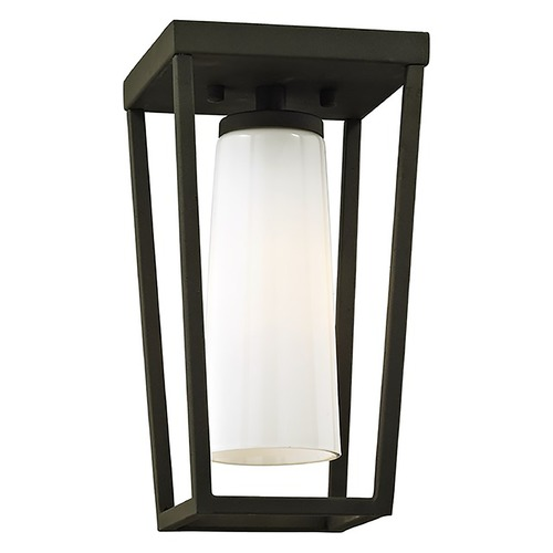 Troy Lighting Troy Lighting Mission Beach Textured Black Close To Ceiling Light C6350