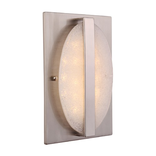 Craftmade Lighting Craftmade Lighting Illuminated Brushed Polished Nickel Doorbell Chime ICH1720-BNK