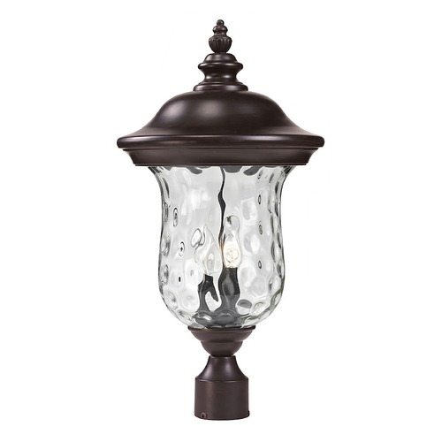 Z-Lite Z-Lite Armstrong Bronze Post Light 533PHM-RBRZ