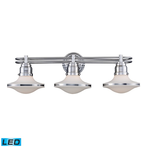 Elk Lighting Elk Lighting Retrospectives Polished Chrome LED Bathroom Light 17052/3-LED