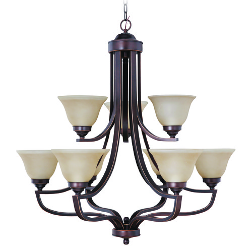 Jeremiah Lighting Jeremiah Portia Metropolitan Bronze Chandelier 9835MB9