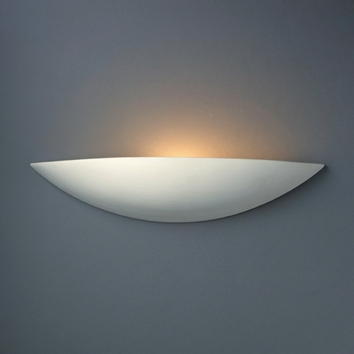 Justice Design Group Sconce Wall Light in Bisque Finish CER-4210-BIS