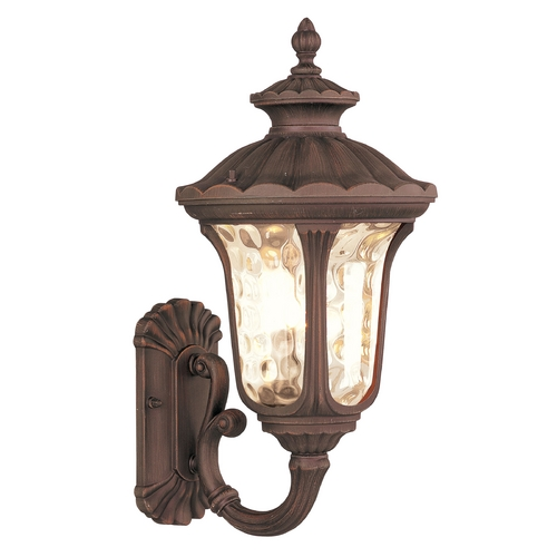 Livex Lighting Livex Lighting Oxford Imperial Bronze Outdoor Wall Light 7652-58