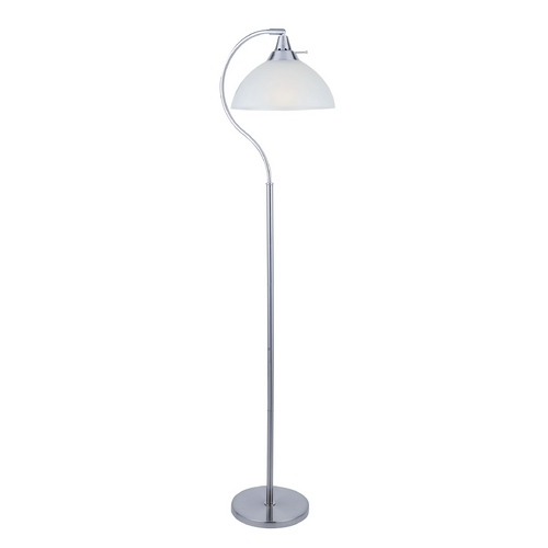 Lite Source Lighting Lite Source Lighting Zuna Polished Steel Floor Lamp LS-82376