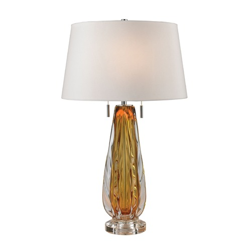 Dimond Lighting Dimond Lighting Amber Table Lamp with Empire Shade D2669W
