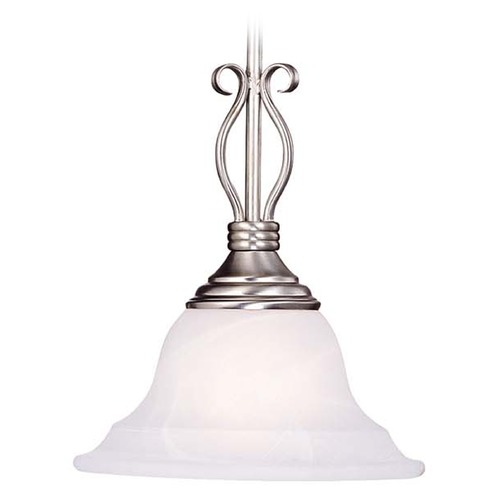 Savoy House Savoy House Pewter Mini-Pendant Light with Bell Shade KP-SS-130-1-69