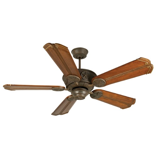 Craftmade Lighting Craftmade Lighting Chaparral Aged Bronze Textured Ceiling Fan Without Light K10873