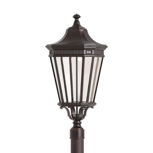 Feiss Lighting Feiss Lighting Cotswold Lane Grecian Bronze LED Post Light OL5408GBZ-LED