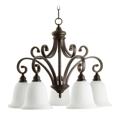 Quorum Lighting Quorum Lighting Bryant Oiled Bronze Chandelier 6354-5-186