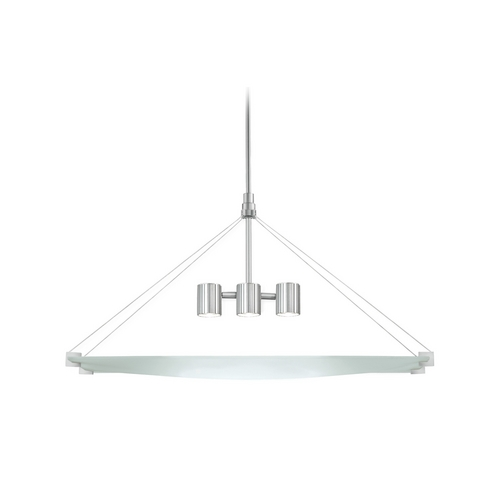 Sonneman Lighting Modern Mini-Pendant Light with White Glass 3400.04