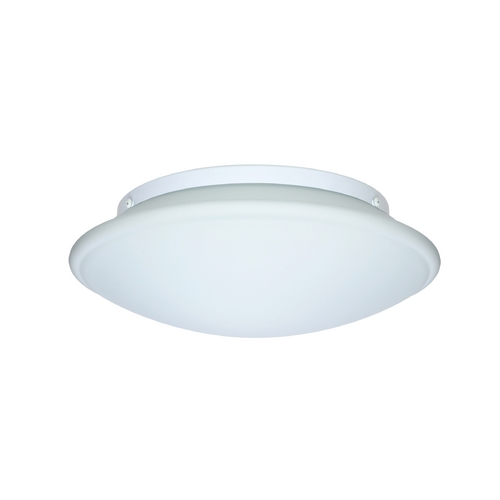 Besa Lighting Flushmount Light with White Glass 943107C