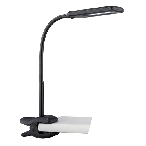 Lite Source Lighting Lite Source Lighting LED Clamp Desk Lamp LS-22006BLK