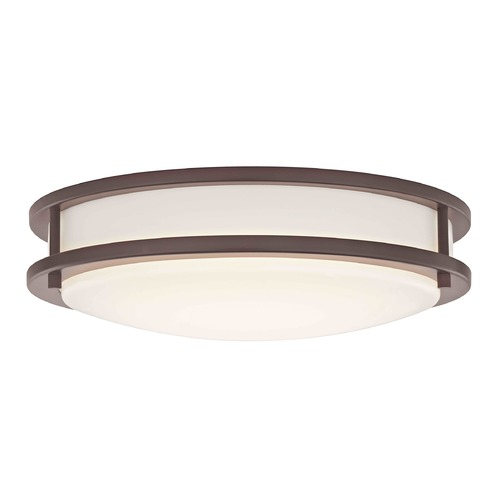 Design Classics Lighting Design Classics Mee Royal Bronze LED Flushmount Light 3014-90-30