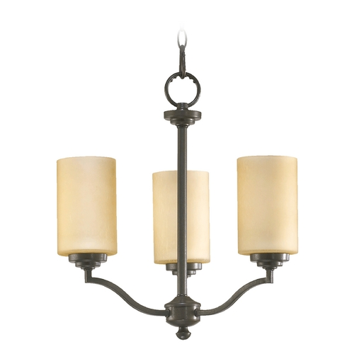 Quorum Lighting Quorum Lighting Atwood Oiled Bronze Mini-Chandelier 6096-3-86