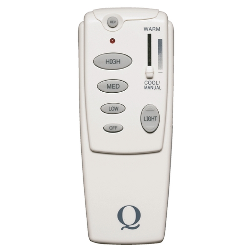 Quorum Lighting Quorum Lighting White Fan Control 7-1401-0