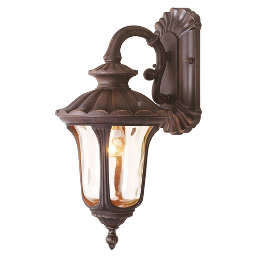 Livex Lighting Livex Lighting Oxford Imperial Bronze Outdoor Wall Light 7651-58
