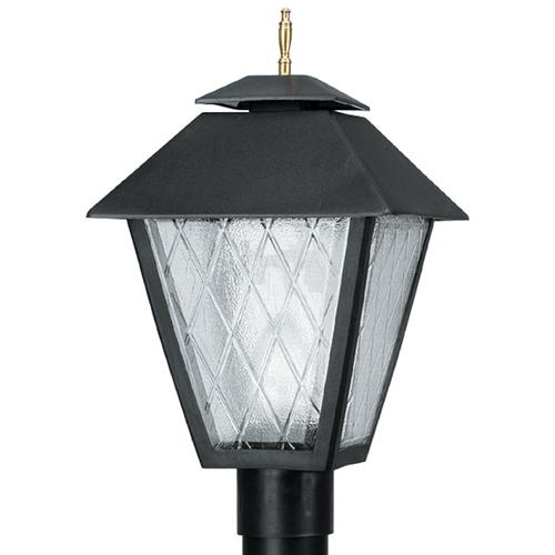 Wave Lighting Wave Lighting Marlex Colonial Black Post Light 110