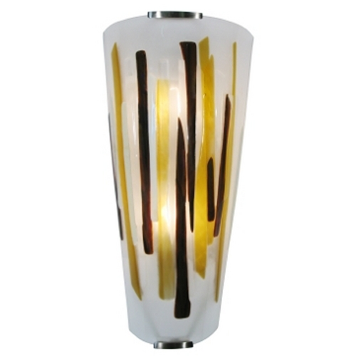 Oggetti Lighting Oggetti Lighting Splash Satin Nickel Sconce 12-1501