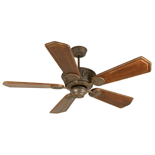 Craftmade Lighting Craftmade Lighting Chaparral Aged Bronze Textured Ceiling Fan Without Light K10874