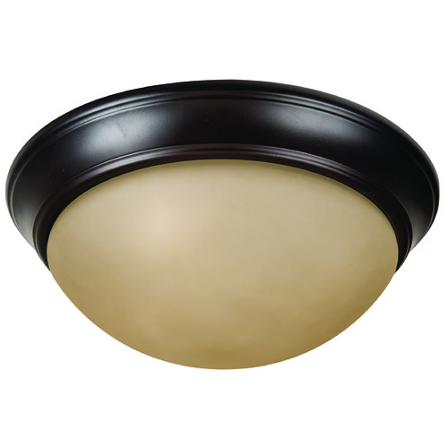 Craftmade Lighting Craftmade Pro Builder Premium Flush Oiled Bronze Flushmount Light XPP15OB-3A