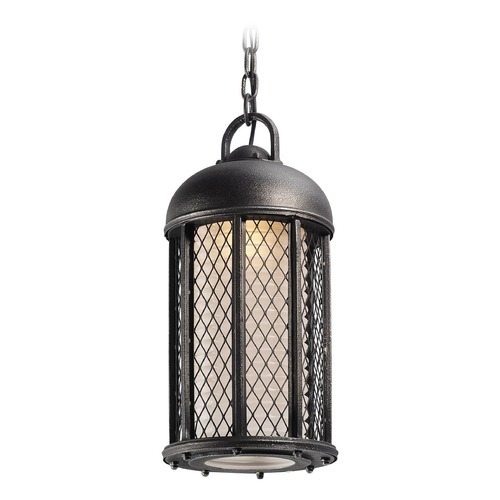 Troy Lighting Troy Lighting Signal Hill Aged Silver Outdoor Hanging Light F4487
