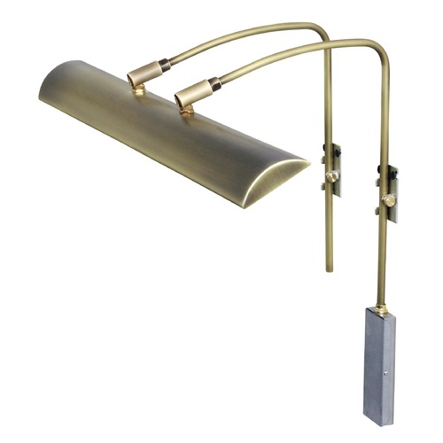 House of Troy Lighting House of Troy Zenith Antique Brass LED Picture Light ZLEDZ24-71