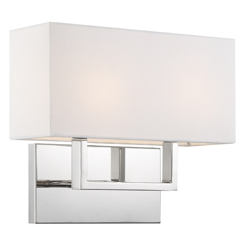 Nuvo Lighting Satco Lighting Tribeca Polished Nickel Bathroom Light 60/6718